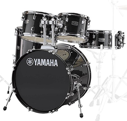 Yamaha RDP0F5BLGCPSET Rydeen 20 Inch Drum Kit with Hardware - Black Glitter