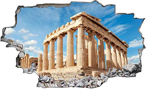Parthenon Tempel Griechenland Wandtattoo Wandsticker Wandaufkleber C0981 Größe 40 cm x 60 cm