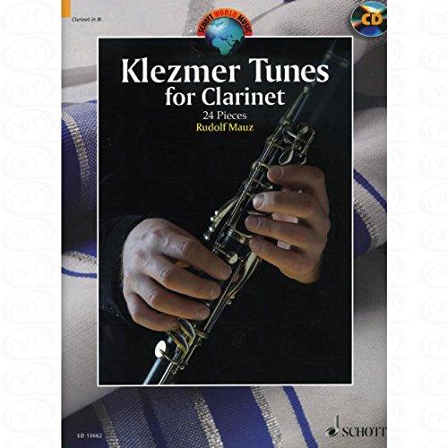KLEZMER TUNES - arrangiert für Klarinette - Klavier - mit CD [Noten/Sheetmusic] aus der Reihe: Schott World Music