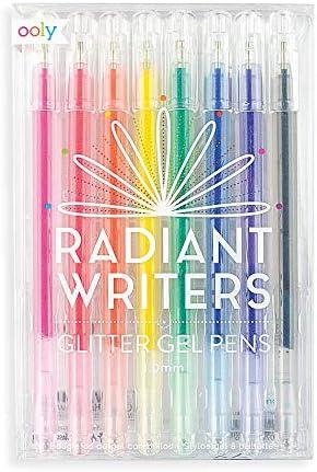 Radiant Writers Glitter Gel Pens Set of 8 product image
