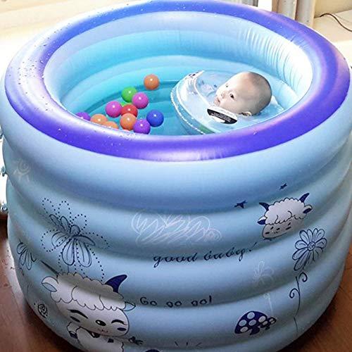 Tragbare Aufblasbare Badewanne Thicker Adult Tub Folding Wannenbad Fass Erwachsenen Wanne Aufblasbare Badewanne Dicker Plastikeimer Badewanne 100 * 75 * 75 cm Bath