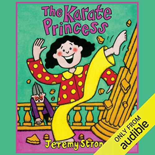 The Karate Princess audiobook cover art