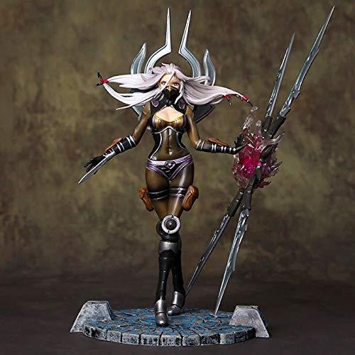 Mopoq League of Legends Blade Will Irelia Mädchen Messer Mädchen PVC Action Figure Spielzeug Erwachsene Sammlung Modell Puppe Geschenk