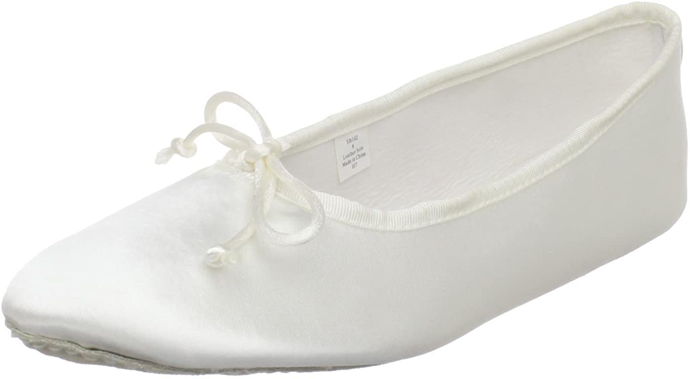Dance Class Women's SB102 Full Sole Satin Ballet Slipper