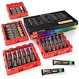 Arteza Gouache | Pintura gouache con 24 colores de calidad para artistas | Set de 24 tubos de 12ml | Ideal como set de iniciación para pintar con gouache