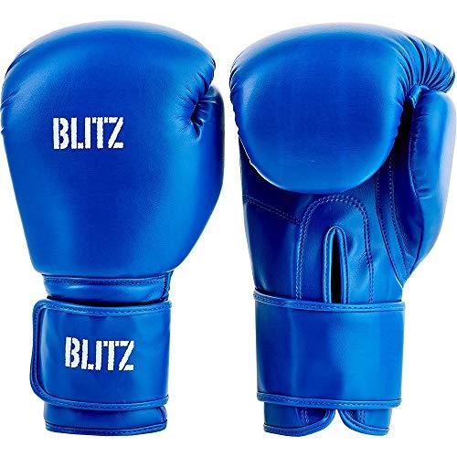 Blitz Training Boxhandschuhe, blau, 454 g