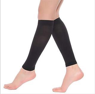 Kaifang - Medias de compresión médica, 20 – 30 mm, calcetines de compresión sin pie para espinillas, correr, dolor de pierna, enfermeras y embarazadas, aumenta la circulación sanguínea