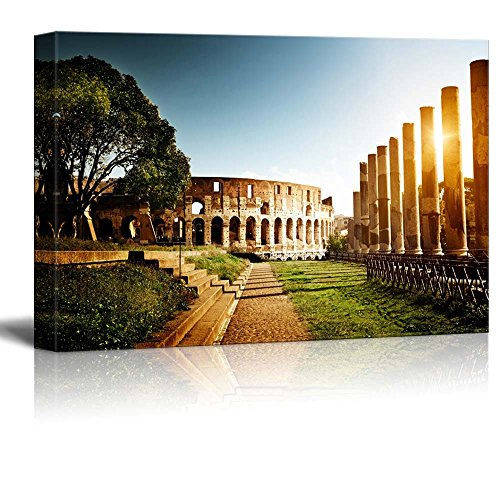 "Canvas Prints Wall Art - Colosseum in Rome, Italy - 24"" x 36"""