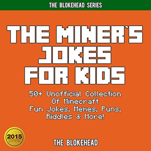 The Miner's Jokes for Kids audiobook cover art