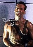 Bruce Willis Die Hard John McClane 1988 Action Movie Print (11.7' X 8.3')