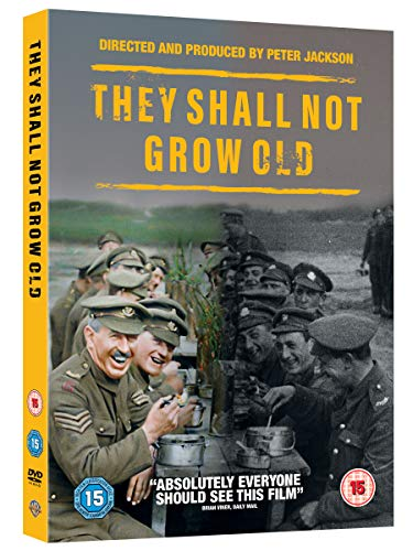 They Shall Not Grow Old [DVD] [2018]