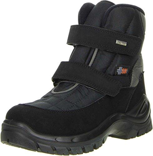 Vista Herren Winterstiefel Snowboots EISKRALLEN schwarz, Größe:41;Farbe:Schwarz