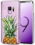 VIVIBIN Samsung Galaxy S9 Case,A Cute Pineapple Design for Women Girls,Silicone Rubber TPU Case with Clear Bumper Scratch Resistant Slim Fit Protective Phone Case for Galaxy S9 [5.8']