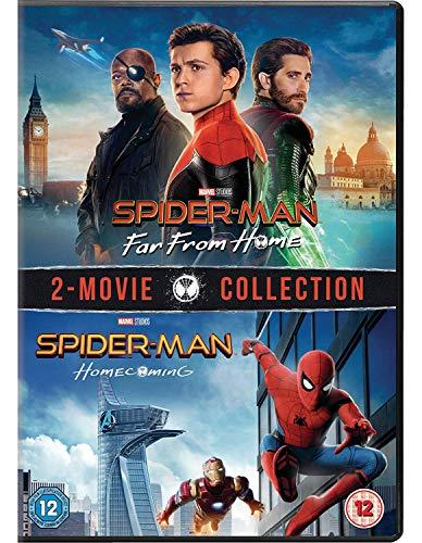 Spider-Man: Homecoming & Far From Home (2 Dvd) [Edizione: Regno Unito]