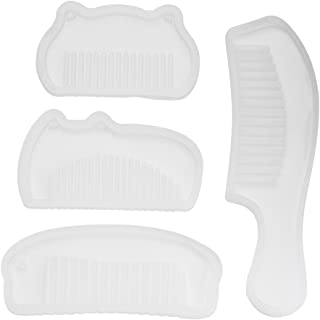 Wal front 4 Pcs/Set Comb Series Silicone Mold DIY Hand Craft Epoxy Resin Silicone Mould Handmade Tool Crystal Jewelry Sili...