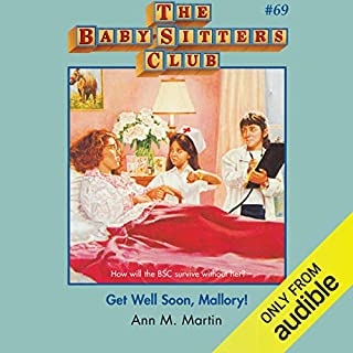 Get Well Soon, Mallory! audiobook cover art