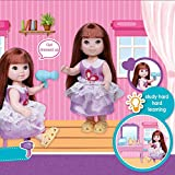 Hedear Girl Dressing Table Kit Beauty Dresser Table Play Set Juego de imaginación Juguetes para niños de 3 años en adelante