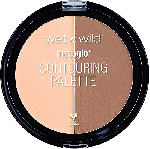 Wet n Wild - MegaGlo Contouring Palette - Paleta de Correctores e Iluminadores, Perfecta para Ocultar las Imperfecciones -...