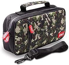 Capa Case Camuflagem Bolsa Acessórios Para Nintendo Switch e Switch Lite