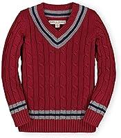 Hope & Henry Boys' Long Sleeve V-Neck Cricket Sweater