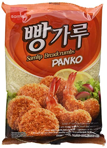 SAMLIP Samlip Panko Paniermehl (aus Südkorea) 6er Vorteilspack, 6er Pack (6 x 200 g)