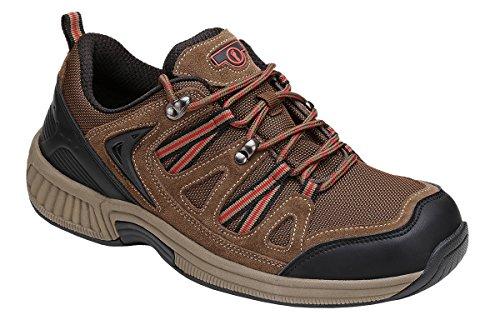 Orthofeet Proven Plantar Fasciitis, Foot Pain Relief. Extended Widths. Orthopedic Diabetic Walking Men