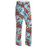 Royal & Awesome Men's Golf Pants, Partoon, 34W x 30L