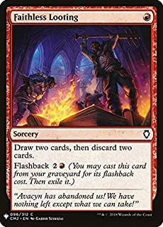 Magic: The Gathering - Faithless Looting - Mystery Booster - Commander Anthology 2018