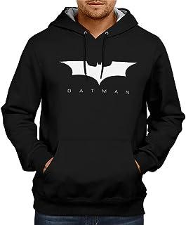 CupidStore Superhero Batman Logo Hoodie Sweatshirt Cotton Red Blue Black Hoodies for Mens Batman Logo Hoodie for Men | Batman Sweatshirt