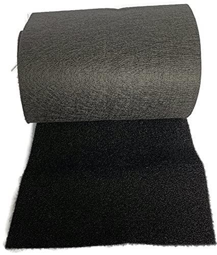 SoFlo Bunk Trailer Carpet - Black 11' x15' - 16oz Marine Grade Carpet, Boat Trailer Bunk Carpet, Jet Ski Trailer Ramps