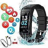 Smartwatch Orologio Intelligente Fitness Tracker Uomo Donna Cardiofrequenzimetro per Monitor da...