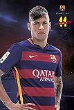 Fc Barcelona - Neymar Pose 2015/2016 - Fußball Poster