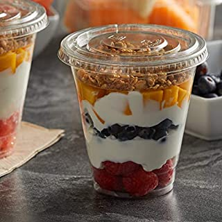 parfait cup with insert