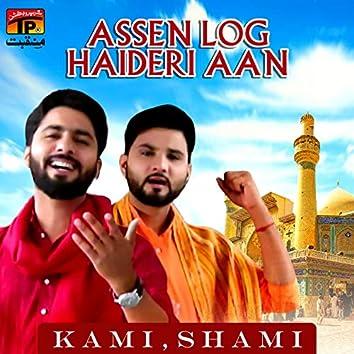 Assen Log Haideri Aan - Single