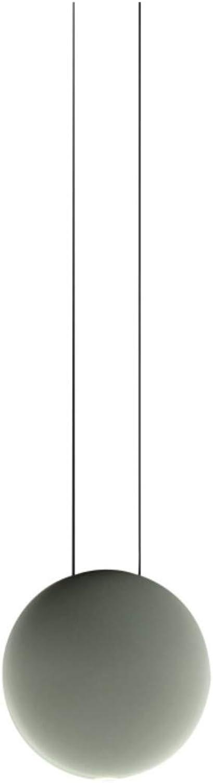 Vibia,lampada a sospensione, 1 led 4, 48 w 350 ma, con diffusore in policarbonato, serie cosmos 250066/10