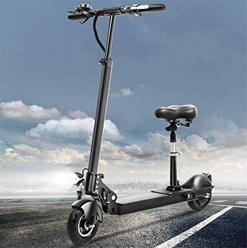 MQJ Ebikes Bicicletas Eléctricas Rápidas para Adultos Vespa de Viaje con Asiento Velocidad Máxima 50Km / H, Máximo 60 Km Distancia de Carrera Mini Batería Coche con Carga Usb,60Km,60Km
