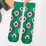 MIWNX 10 Paar Peonfly Liebhaber Casual Socken Frau Obst Lustige Baumwolle Frauen Socken Ei Kekse Banane Avocado Zitrone Harajuku Frühling Sommer