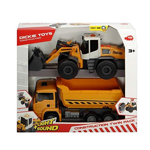 Dickie-227-3726008 2 vehículos de Juguete, Multicolor (3726008)