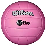 Wilson Outdoor Soft Play Volleyball (Pink)