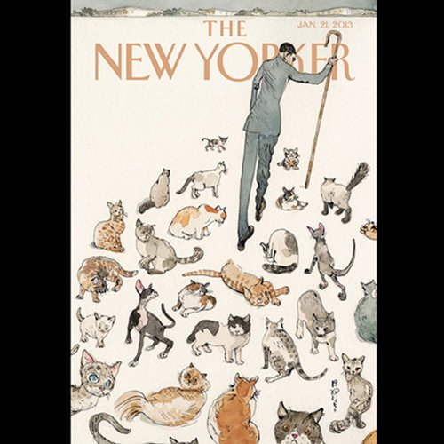 The New Yorker, January 21st 2013 (David Owen, David Remnick, James Surowiecki) cover art