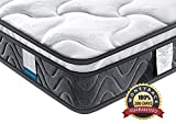 Inofia Full Mattress, Super Comfy Hybrid Innerspring Mattress with Breathable Dual-Layered, 8 Inch, Full Size, 100 Nights Trial at No Risk