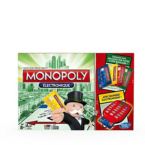 Hasbro - A74441010 - Jeu De Plateau - Monopoly Electronique