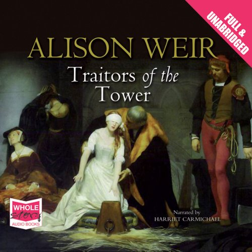 Traitors of the Tower audiobook cover art