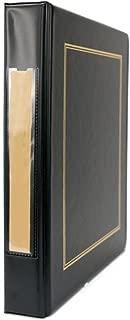Blumberg Portfolio 3 Ring Binders with Optional Slipcases (Black Beauty, Blank Label)