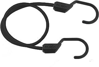 Master Lock 3231EURDAT Cuerdas elásticas con Ganchos XL, óptimo para Sujetar Cargas Pequeñas, Camping, Mudanzas, Negro, 120 cm
