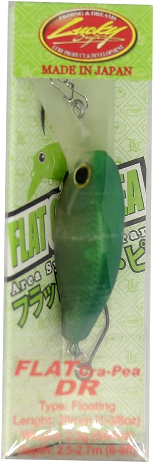 Lucky Craft (Lucky Craft) Lure Flat Class Copy DR Lime Sherbet.