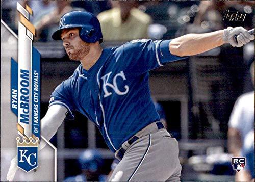 2020 Topps #671 Ryan McBroom RC Rookie Kansas City Royals MLB Baseball Trading Card