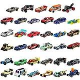Hot Wheels Pack 36 coches de juguete sorpresa, regalo para niños +3 años (Mattel GWN98)