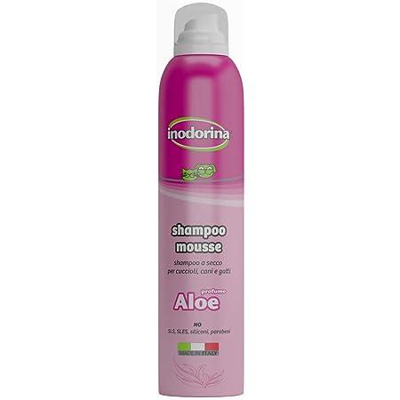 Inodorina - Lavaggio a Secco Schiuma Shampoo Aloe Vera 300 ml