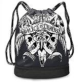 Alice In Chains Dirt Mochila Deportes al Aire Libre y Ocio Mochila Escolar Mochila con cordón de Moda Unisex
